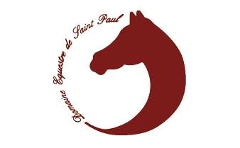 Les cavaliers du domaine equestre de Saint Paul en Foret
